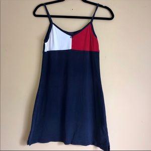 Vintage Tommy Hilfiger Jeans Color Block Dress